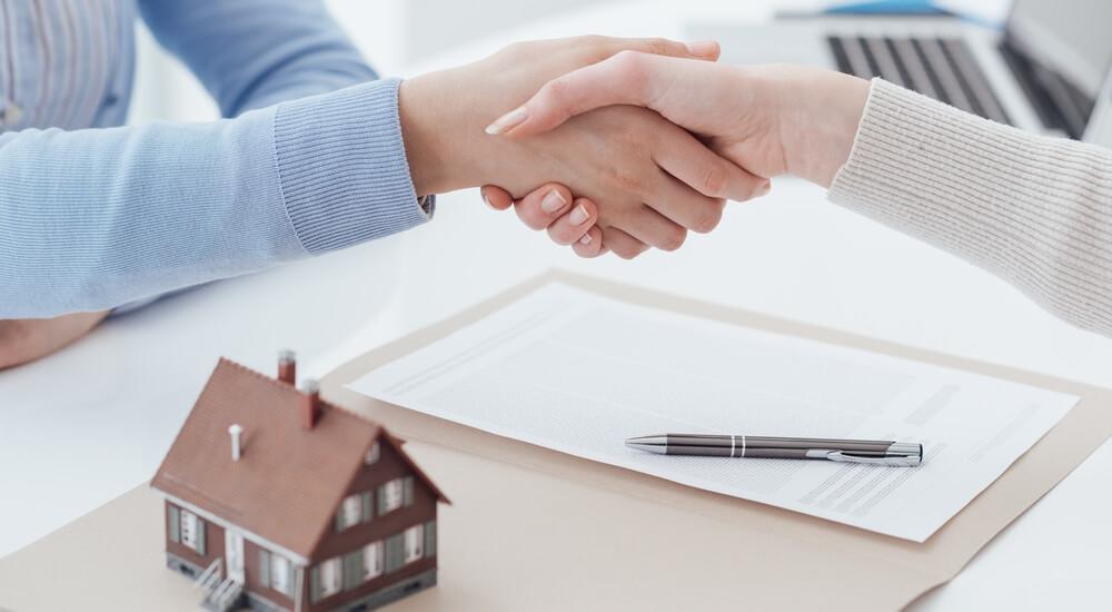 услуги по продаже недвижимости